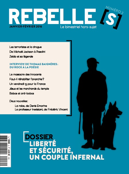 Couverture Rebelle(s) magazine n°2