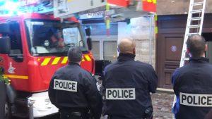Illustration - policiers en opération - © Colin Loève uptaken.com