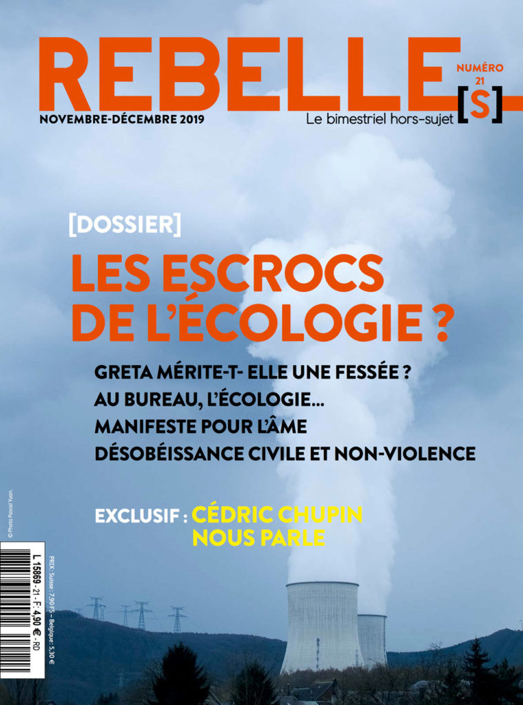 Couverture Rebelle(s) Magazine n°21