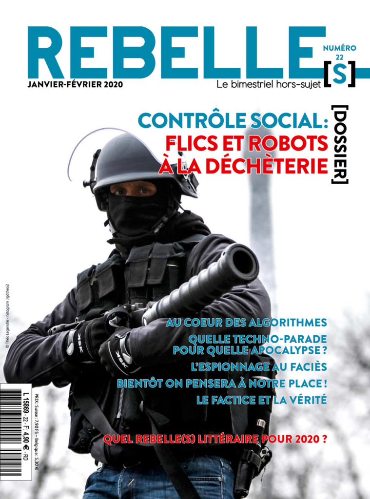 Couverture Rebelle(s) Magazine n°22