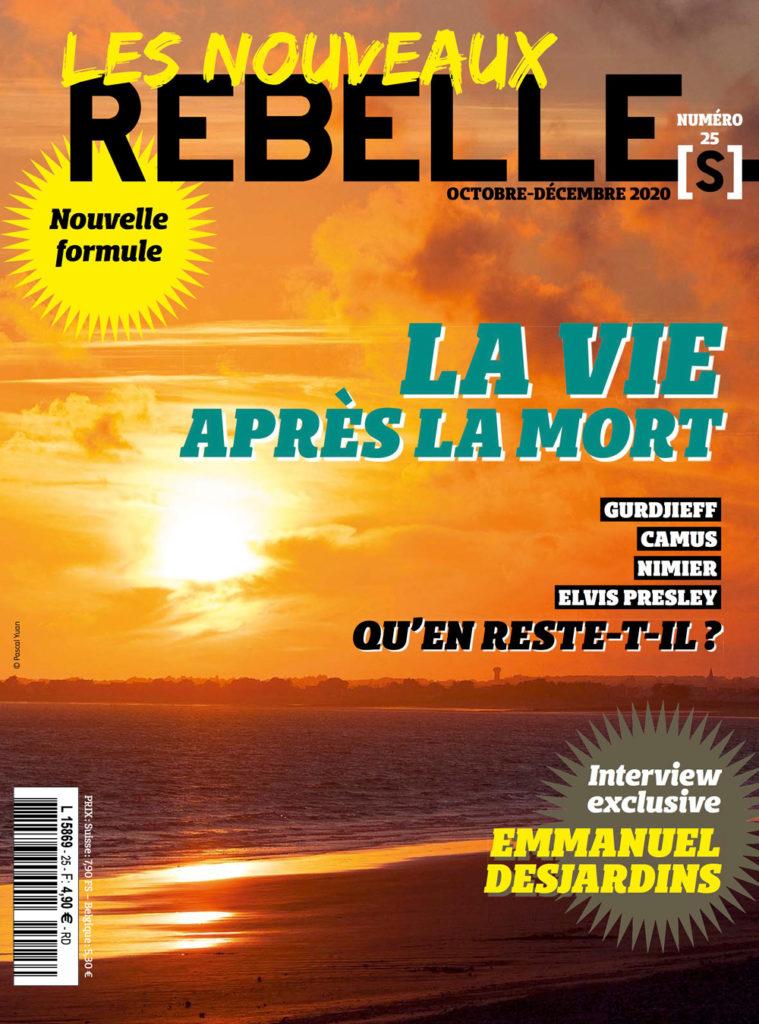 Couverture Nouveaux Rebelle(s) Magazine n°25